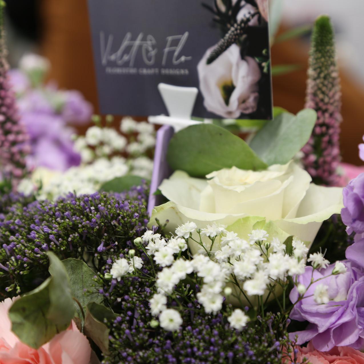 Flower arrangements from inspirations