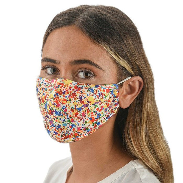 Multi Coloured Face Mask