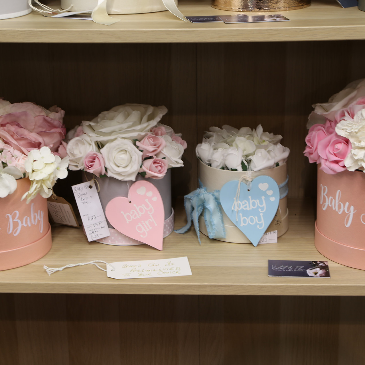Artificial flowers for babies