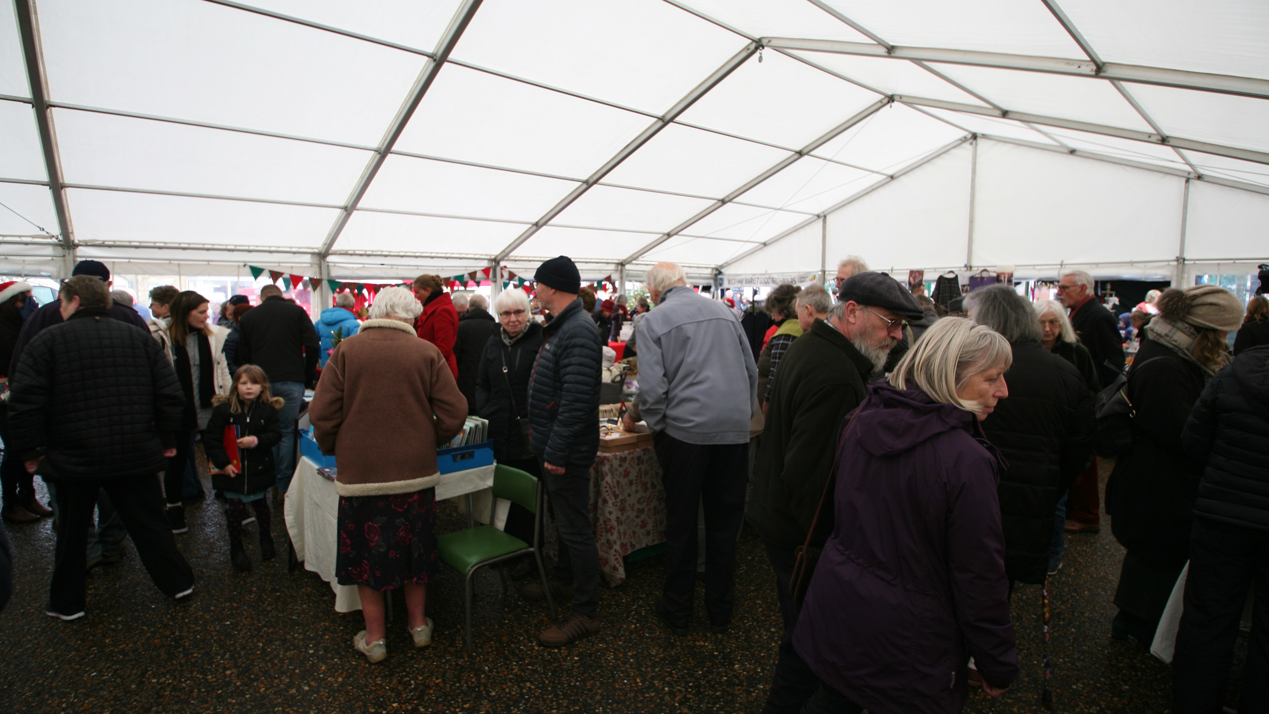 Busy Christmas Marquee