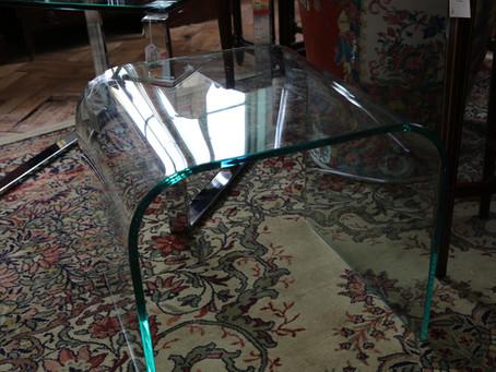 Greenapple Glass Arc Table - £95