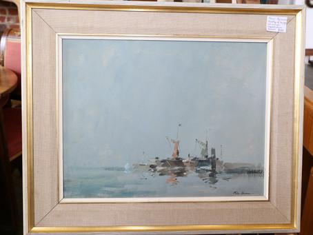 Pete Burman Painting - £100