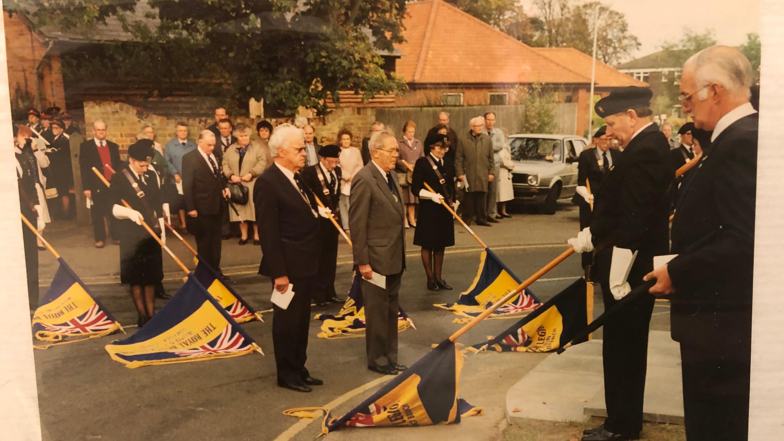 30 years ago in Wickham Market