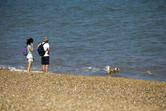 Seaside in Suffolk
