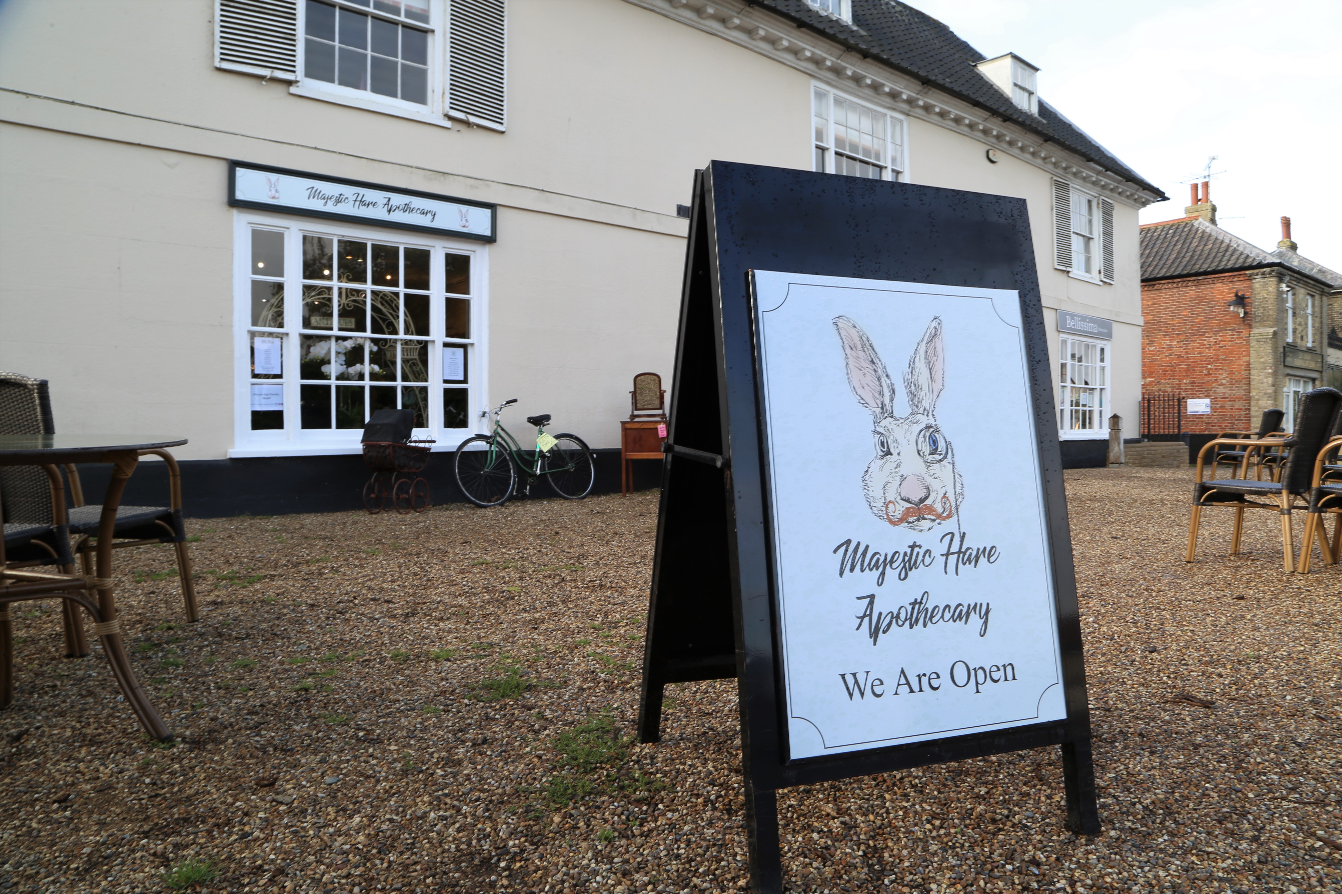 Majestic Hare Apothecary outside