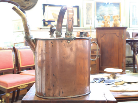 Copper Watering Can - £50