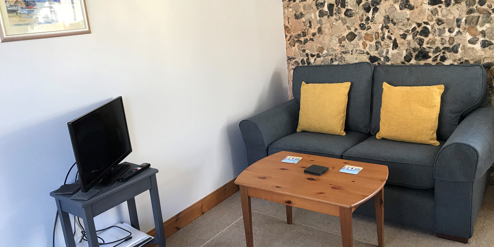 Chapel Cottage: Seating & TV