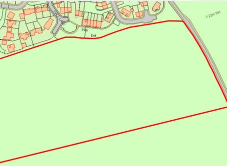 Proposal by Hopkins Homes to build 136 homes on Pettistree land