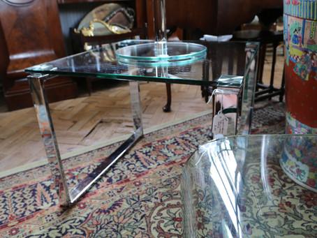 Glass Coffee Table - £55