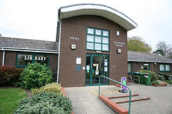 Wickham Market library and community roo