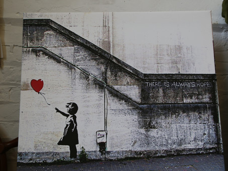 Banksy Inspired Picture - £10