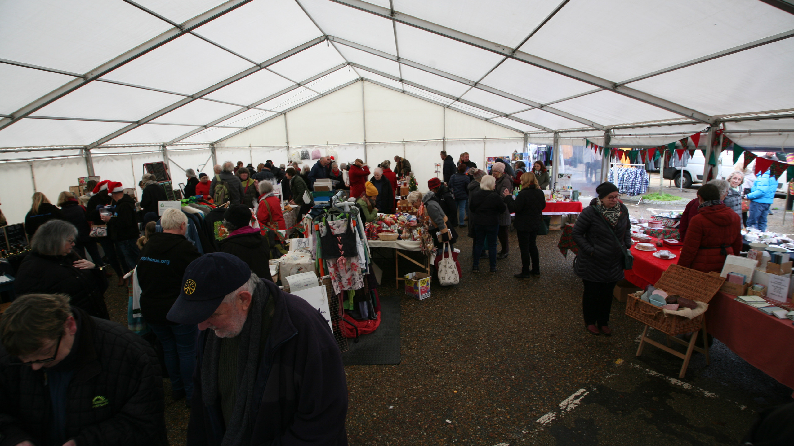 Christmas on the market hill