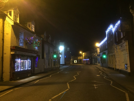 Saxmundham at Christmas