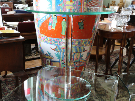 Greenapple Lamp Table - £95