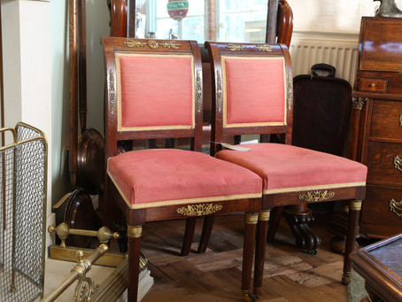 Set of 6 Chairs for Restoration - £425