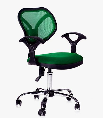 кресло детское офисное яркое chairman CH380 хром
