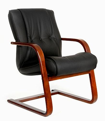 Кресло для совещаний Chairman CH 653V кожаное в Пятигорске с грантией