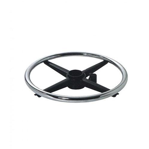 Ринг-база (кольцо для ног)   хром