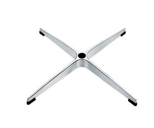 Крестовина металлическая D=680 мм полированный алюминий