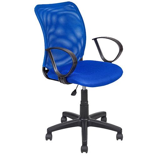 Кресло эргономичное AV219 синее