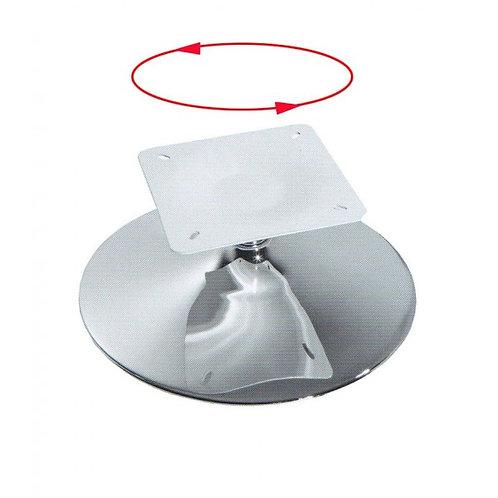 Поворотные базы, Нагрузка 150 кг D=550/1,4,h=390, хром для кресел