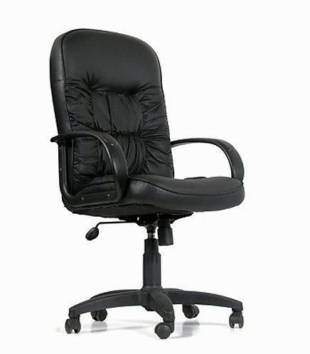 Кресло офисное Chairman CH416 кожаное для руководителей с гарантией 2 года
