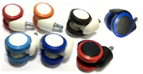ролик RSA705 N38/d11 PU цветной ободок