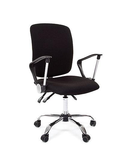 Кресло офисное Chairman 9801 хром черное с доставкой и гарантией