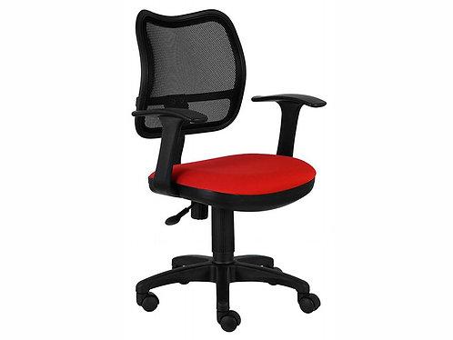 кресло CH 797 AXSN сеточка красное бюрократ