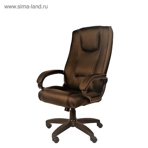 Офисное кресло РК 100 ПЛ коричневый PU