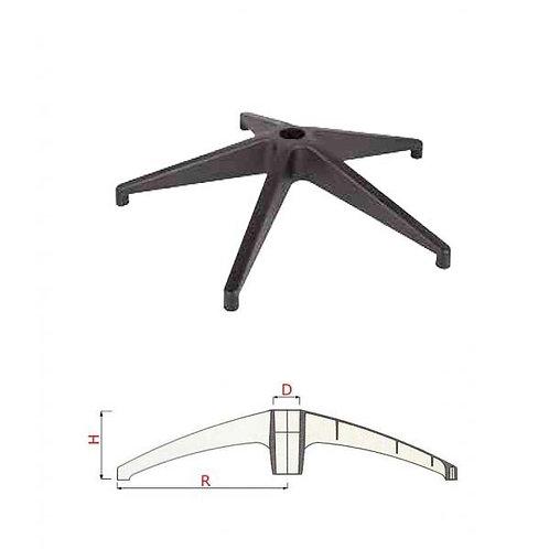 Крестовина РА fiberglass PAB-AX-H 700/135 test BIFMA