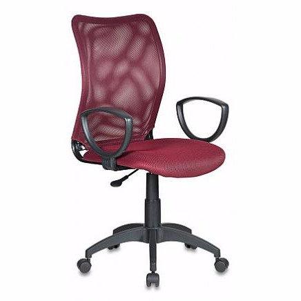 Кресло бюрократ CH 599 бордовое