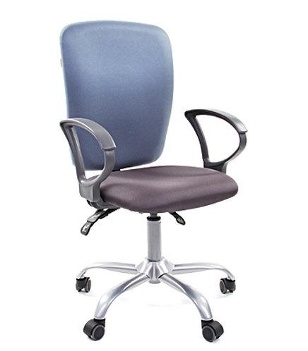 Кресло Chairman 9801 голубое с серым в Пятигорске