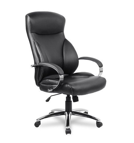 Кресло кожаное College H-9582