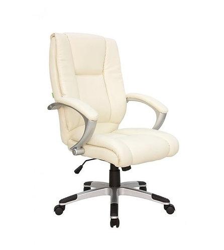 Кресло офисное Лотос бежевое белое