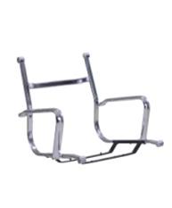 Каркас 539 низкий хромированная сталь