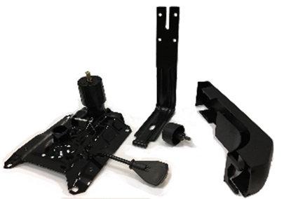 Кронштейн спинки бекбар 450 new (универ.)черный