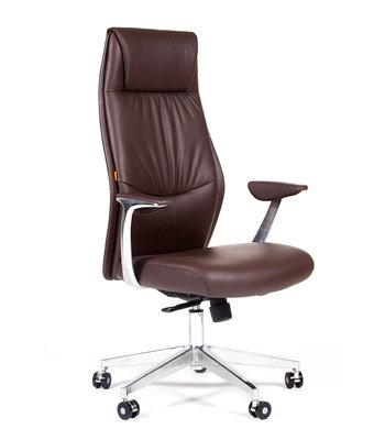 кресло Chairman CH Vista коричневое  надежное гарантия 2 года распродажа