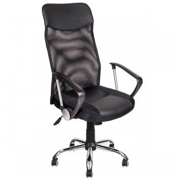 Кресло сеточка AV128 черный