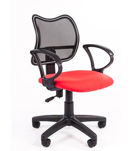 Кресло Chairman 450 LT эконом красное с гарантией