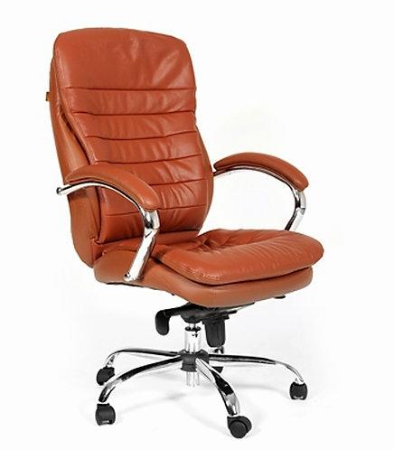 Кресло CHARMAN 795 кожаное удобное надежное с гарантией