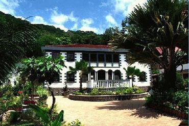 Chateau St Cloude, La Digue, Seychelles - Loated at Anse Reunion La Digue Seychelles