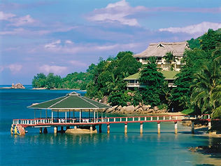 4 Star Coco de Mer Hotel, Praslin island, Seychelles