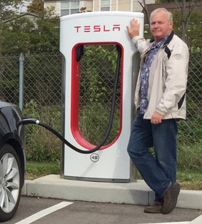 Super Charging On Route to Disney World