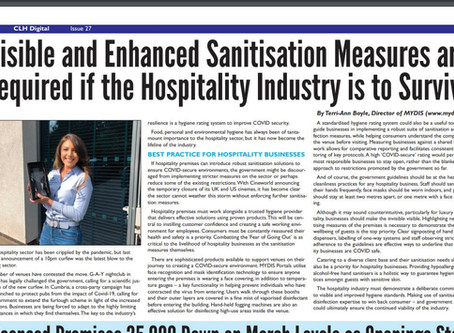 In The Press: Hospitality Industry Post Covid