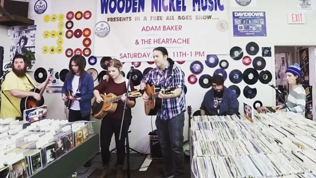 More from the release show _woodennickelrecords in our new format!  #fortwayne #originalmusic #indie