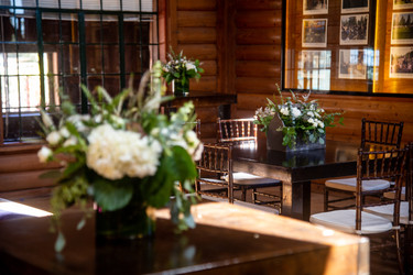 Event Set up - Lodge Rustic Tables .JPG.