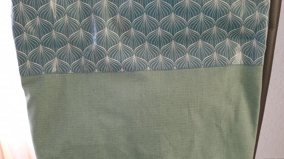 Handtasche Alli Antique Green / Leinen Dusty Mint