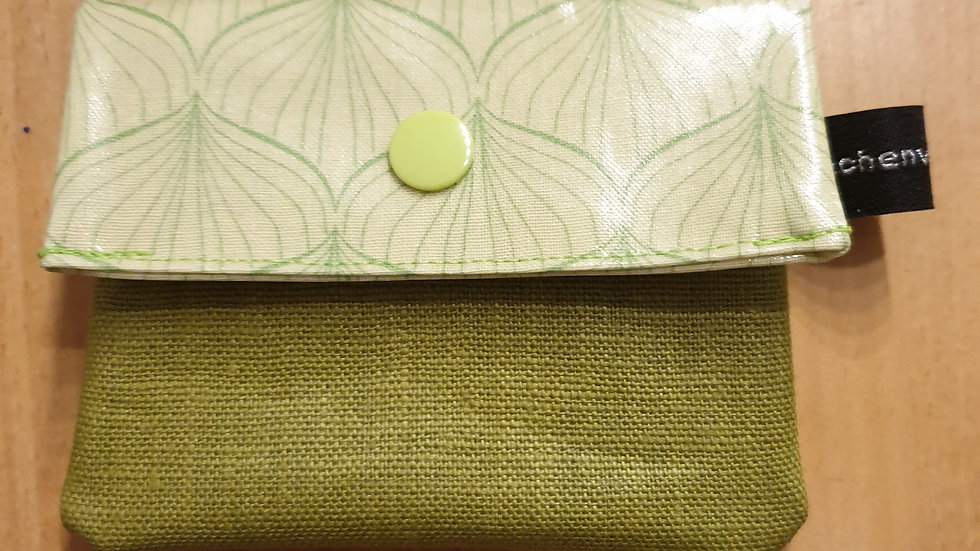 kleines Portemonnaie Alli Spring Green
