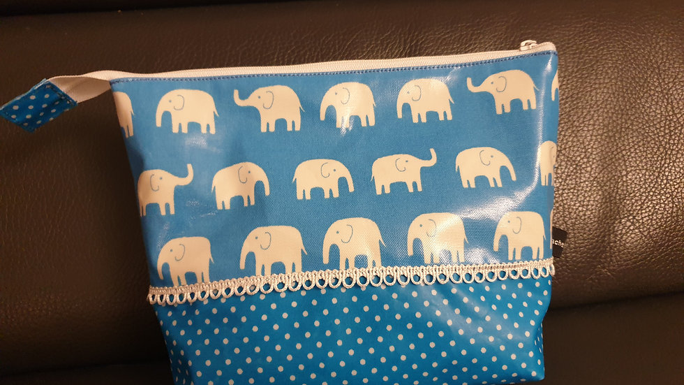 Necessaire Elefanten Blau